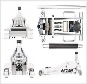 Arcan ALJ3T Aluminum Floor Jack U2013 3 Ton Capacity
