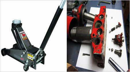 Replace or Repair a Floor Jack